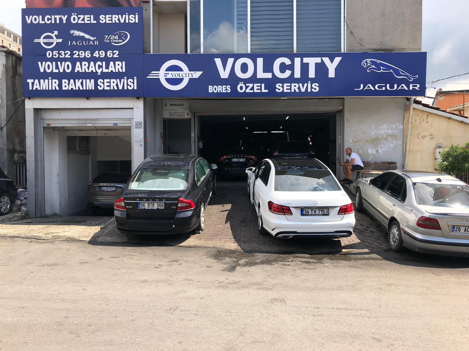Volcity Bostancı Servis Girişi