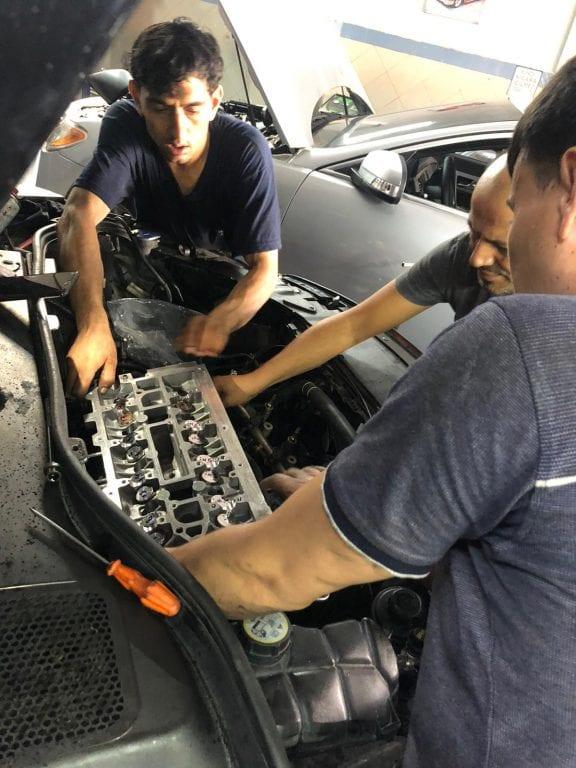 S60 Motor Kapağı Değişimi